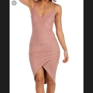 Maybe suede dress